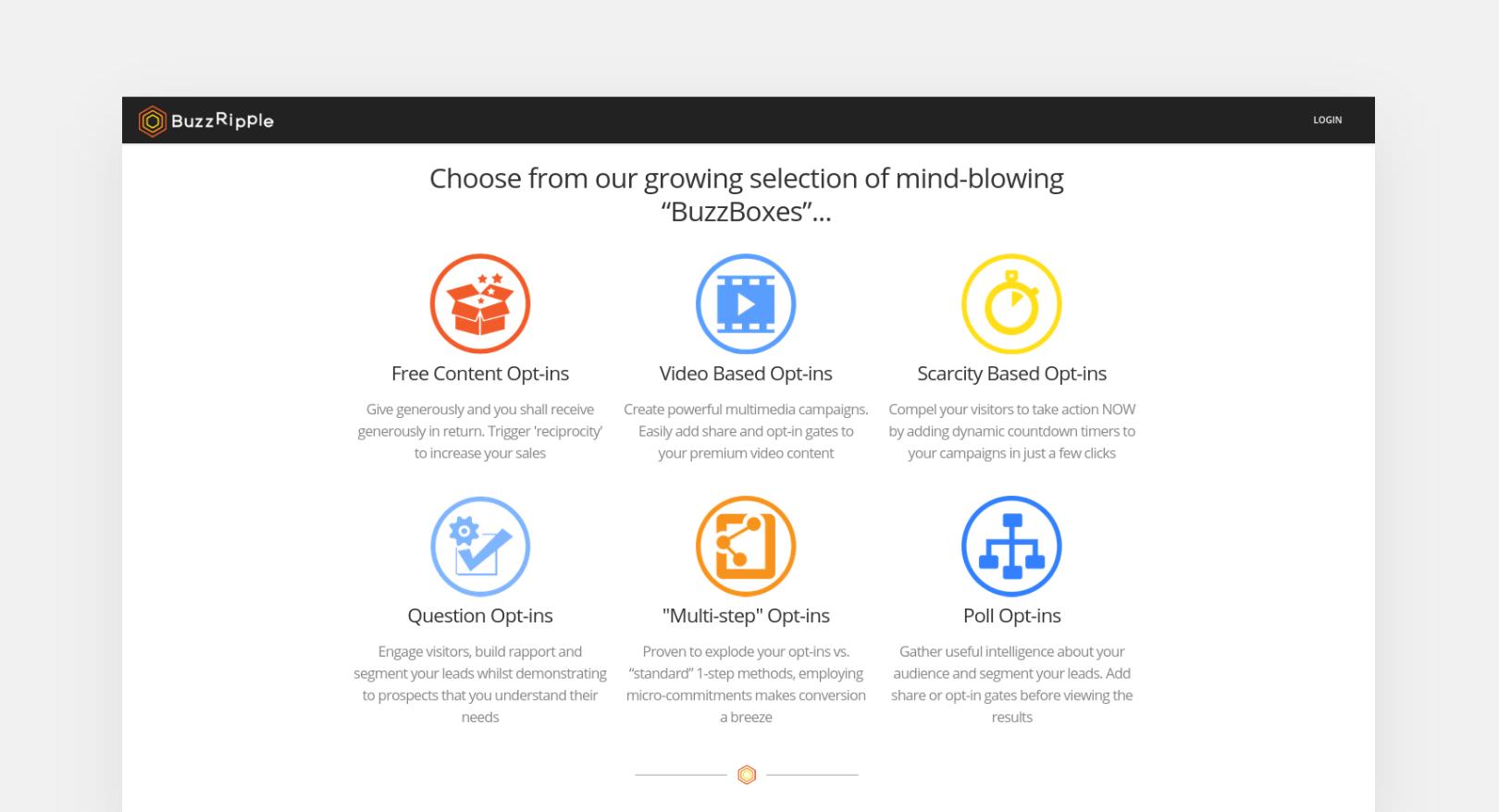 BuzzRipple BuzzBoxes screenshot