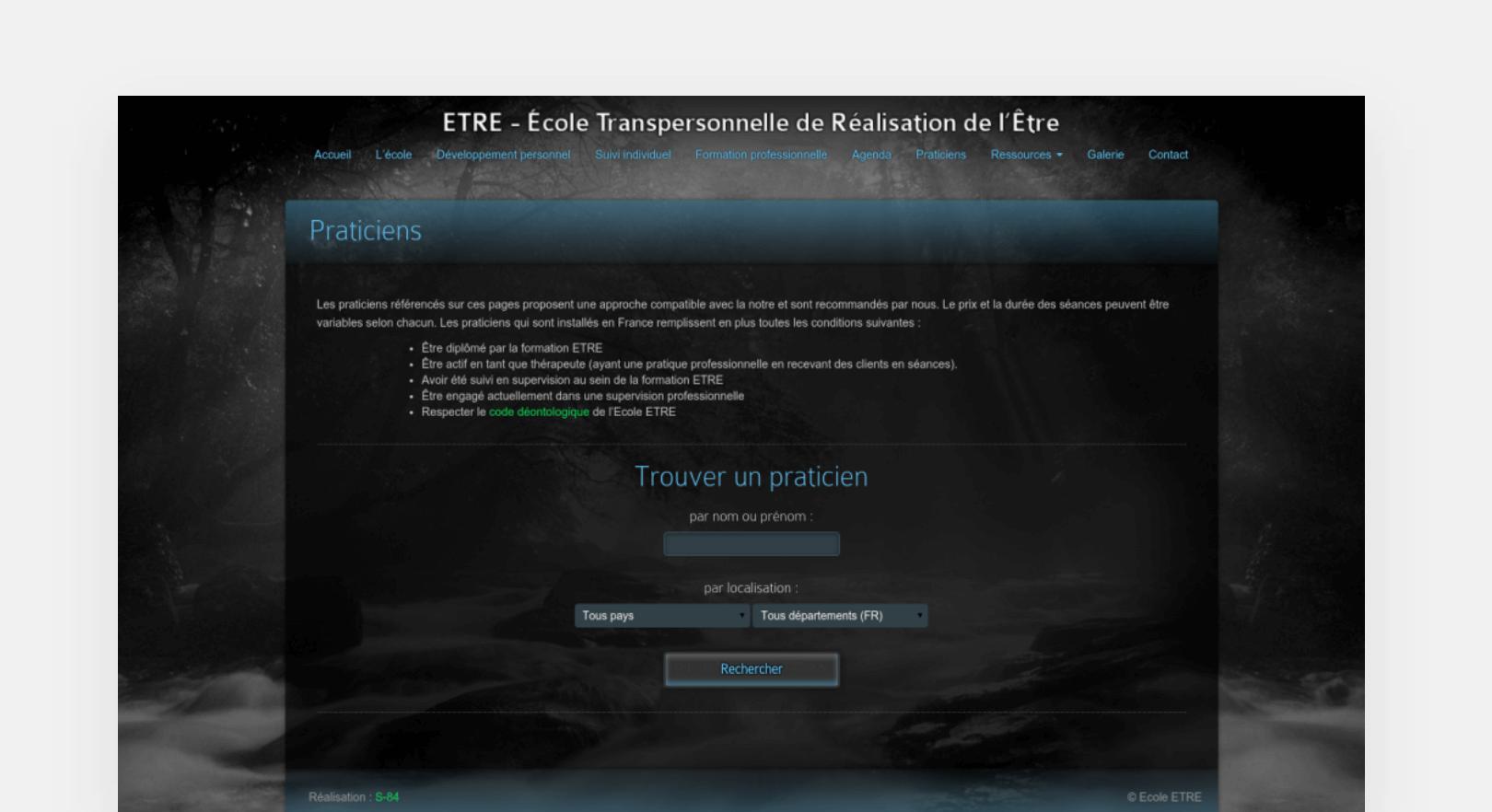 Ecole Etre screenshot-2