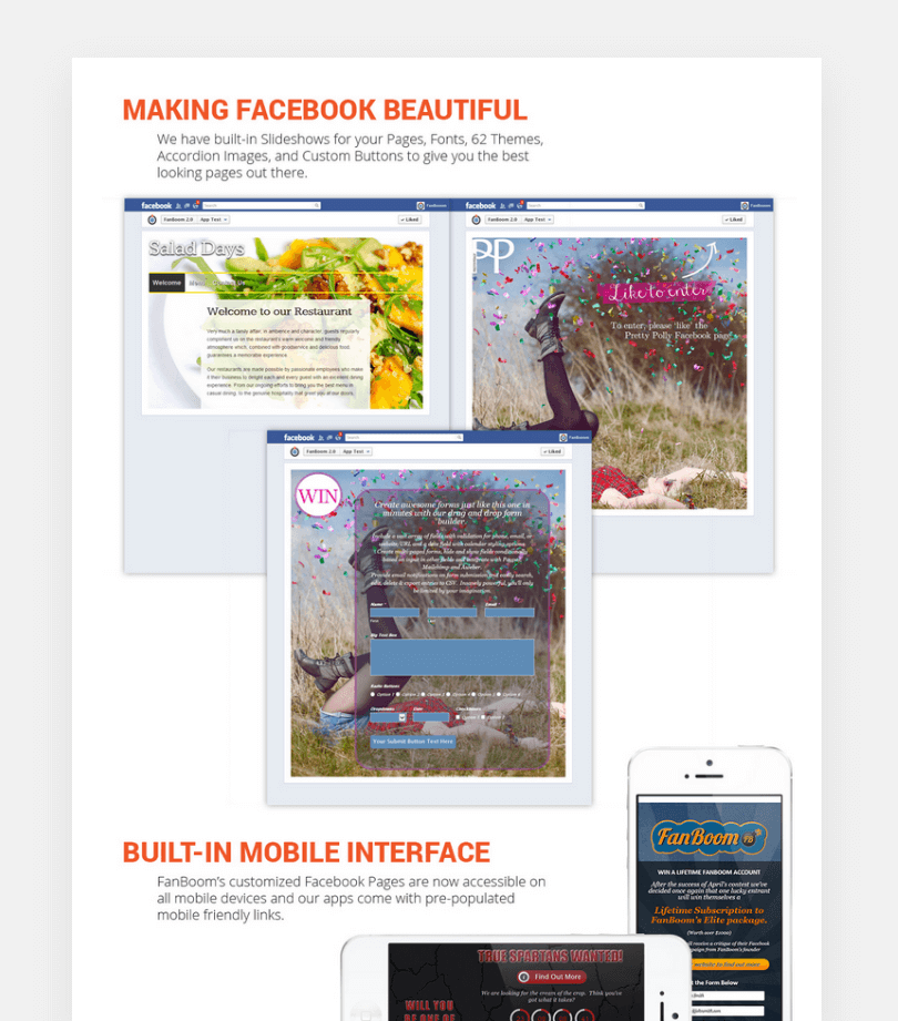 Making Facebook beautiful screenshot
