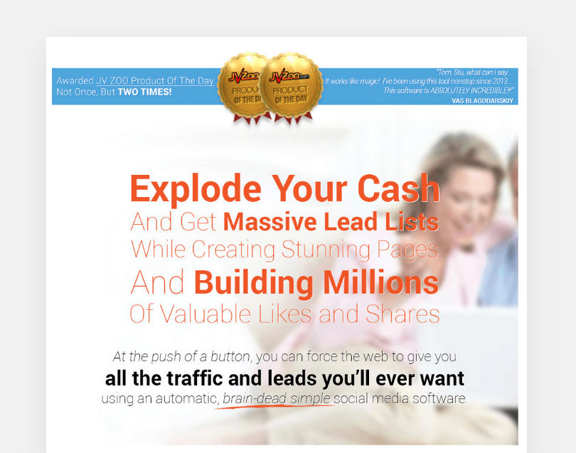 Explode your cash and get massive lead lists