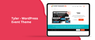 Tyler WordPress Event Theme Featured Image