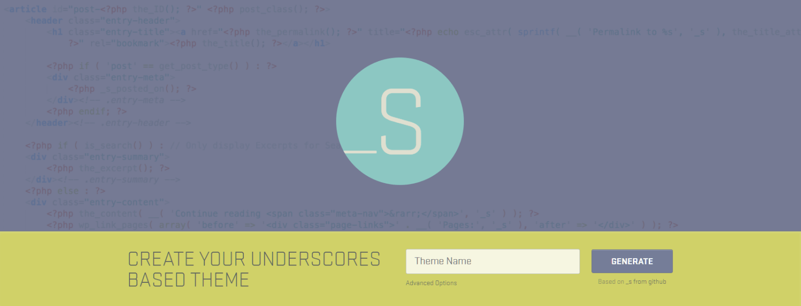 Creating a WordPress Design from Starter Theme
