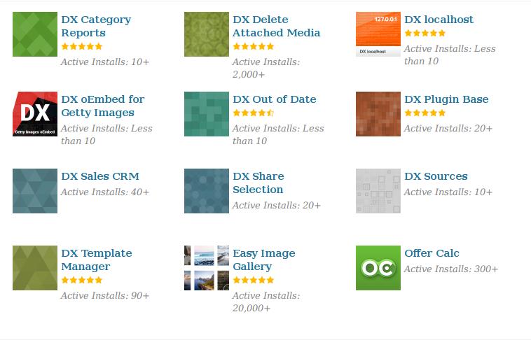 WordPress.org plugins developed by DevriX
