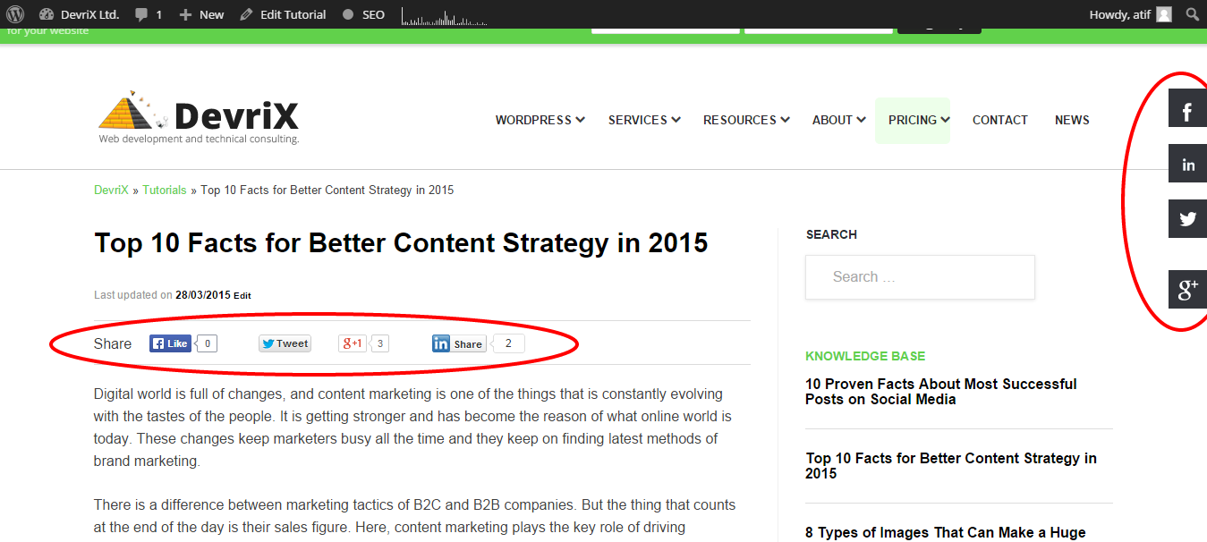 Top 10 Facts for Better Content Strategy in 2015 DevriX Ltd.