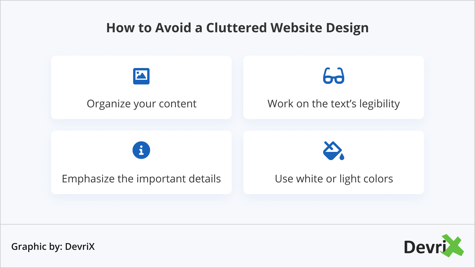 How to Avoid a Cluttered Website Design