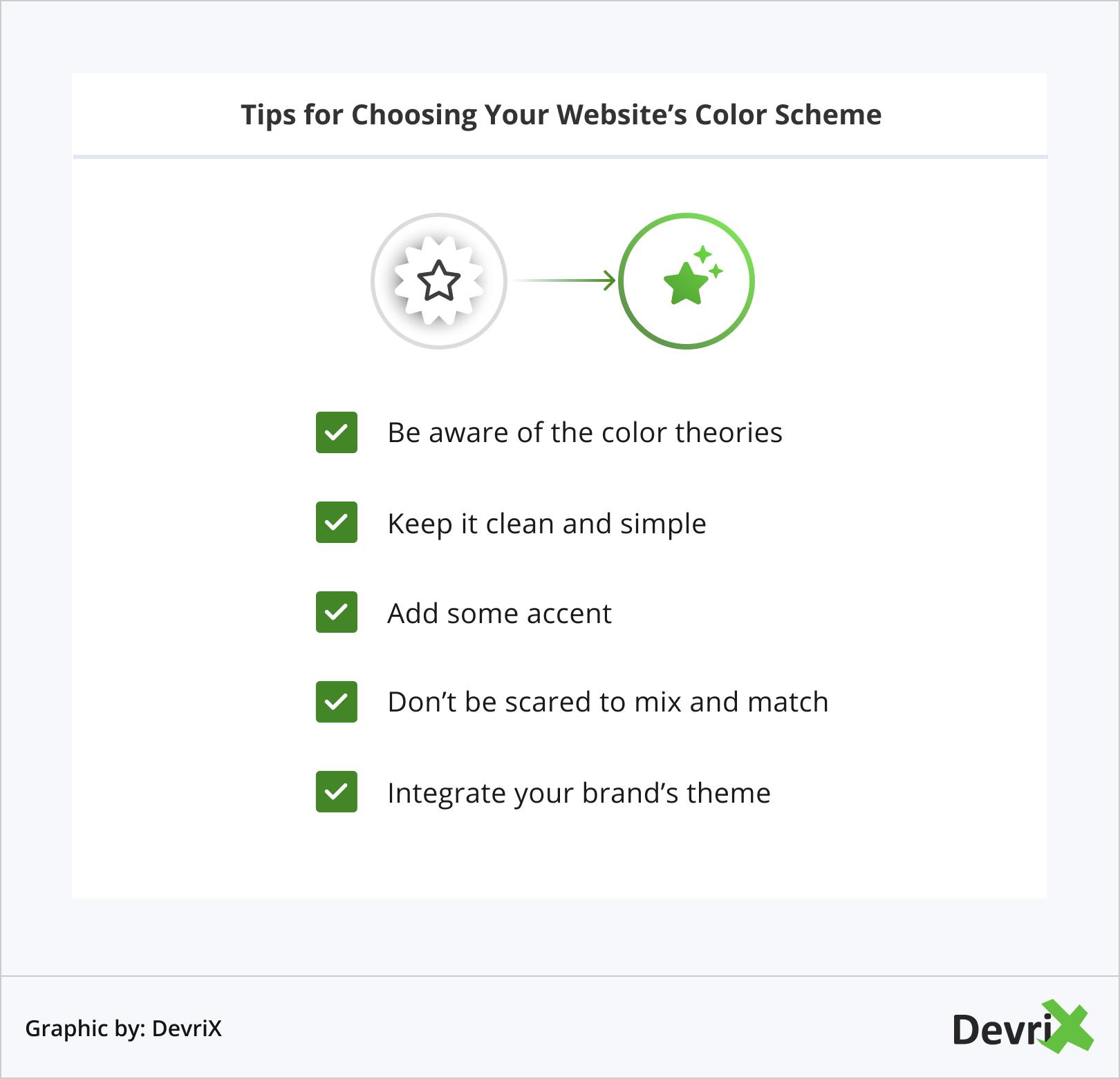 Tips for Choosing Your Website's Color Scheme