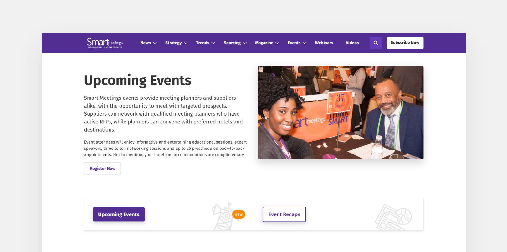 SmartMeetings – Events