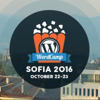 WordCamp Sofia 2016