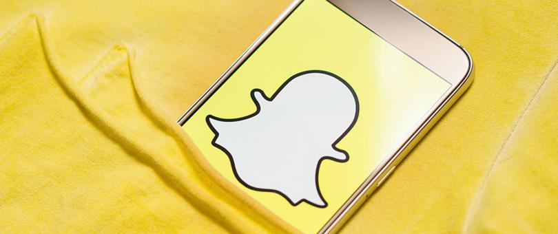 snapchat logo phone