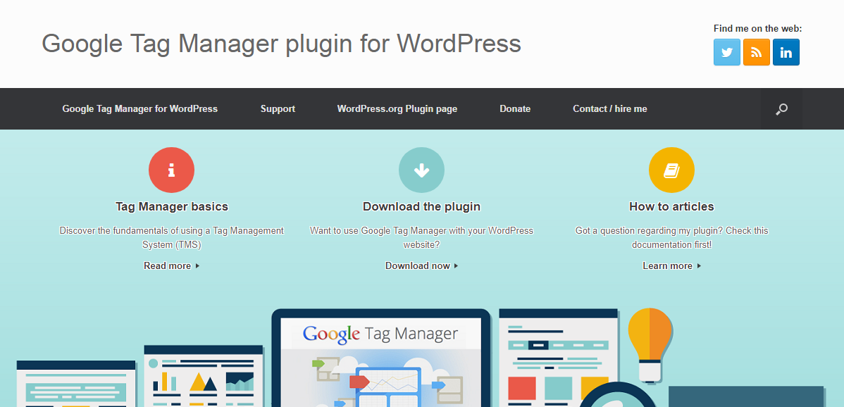 Google Tag Manager Plugin for WordPress