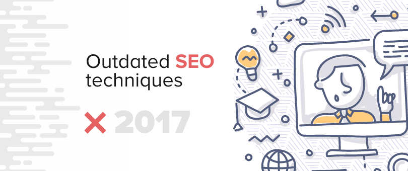 Outdated SEO techniques