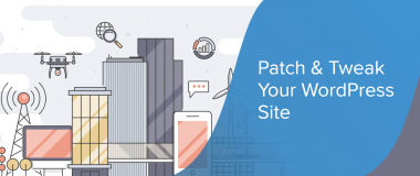 Patch and tweak your WordPress