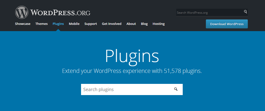 The WordPress Plugin Directory