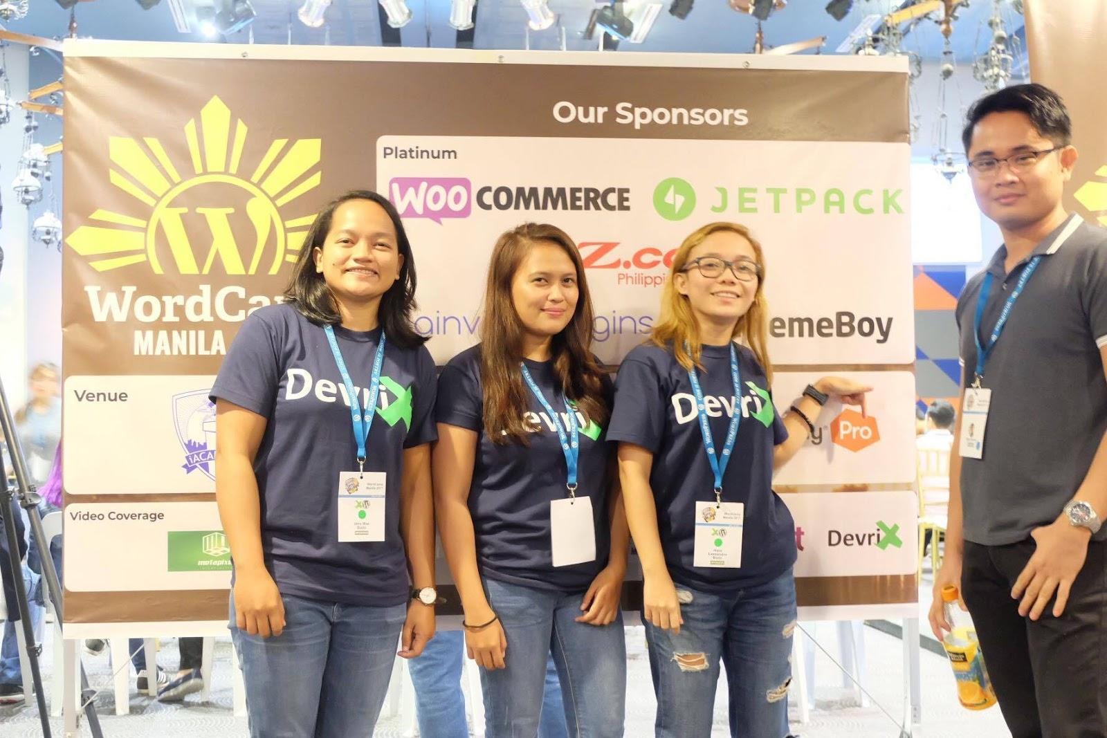 DevriX team at WC Manila 2017