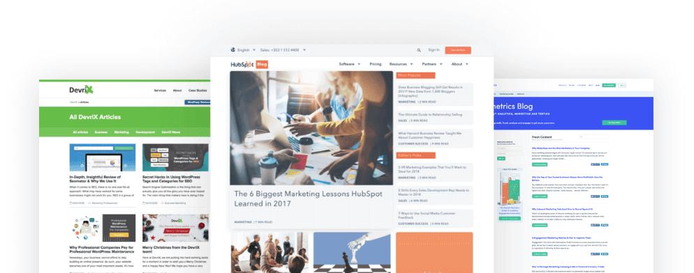online communitites and blogs