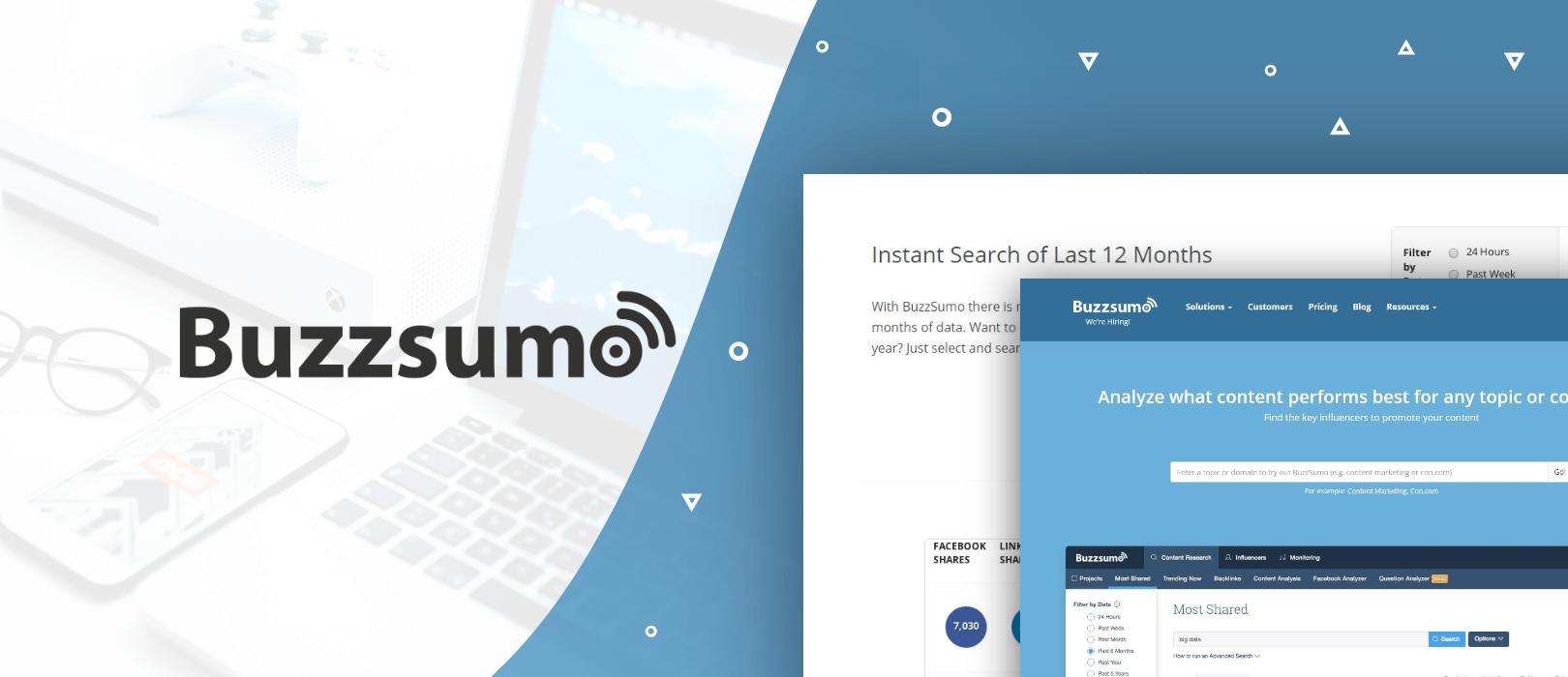 BuzzSumo content marketing strategy