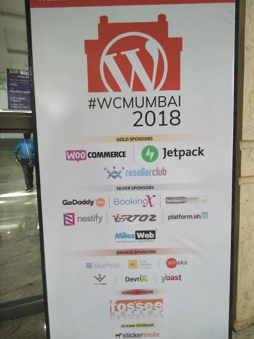 WordCamp Mumbai 2018 Sponsors