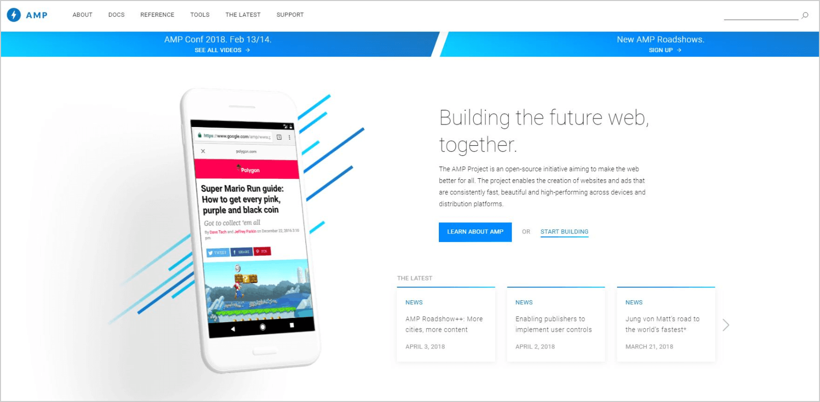 AMP - The future of the web