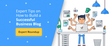 build successful business blog
