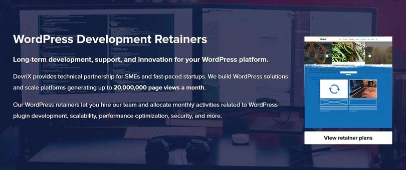 WordPress Retainer Models