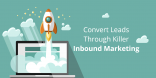 make blog convert leads