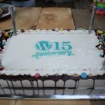 wordpress 15 birthday cake devrix