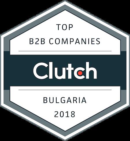 Top B2B Companies in Bulgaria Clutch badge