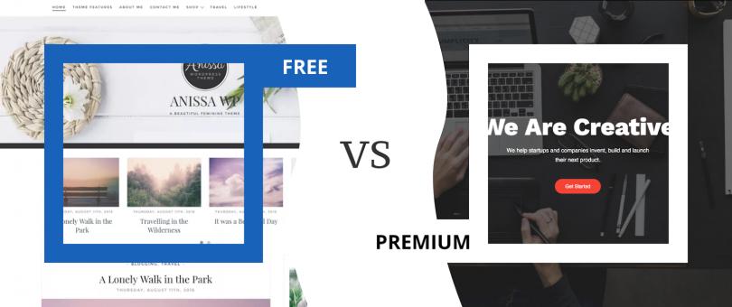 Custom-tailored WordPress themes vs. premium themes