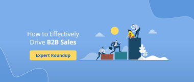 How to Effectively Drive B2B Sales