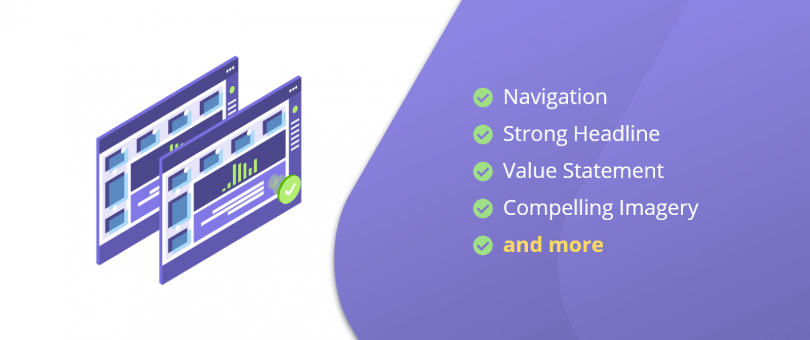 elements of a landing page
