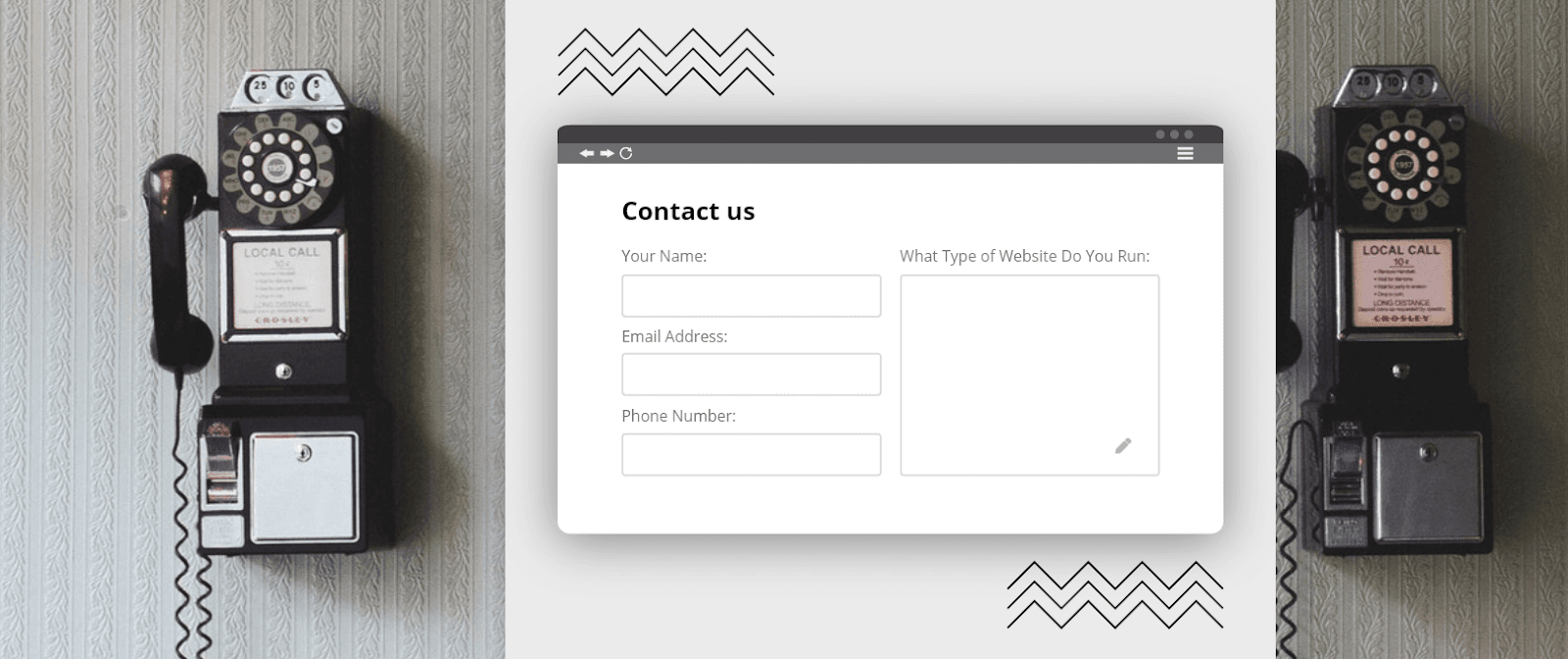 contact page designs