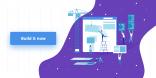 lead generating b2b homepage