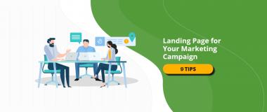 tips creating landing page