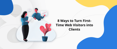 Turn First Time Web Visitors into Clients
