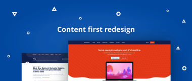 Content-First Redesign