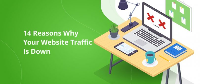 Why Your Website Traffic Is Down