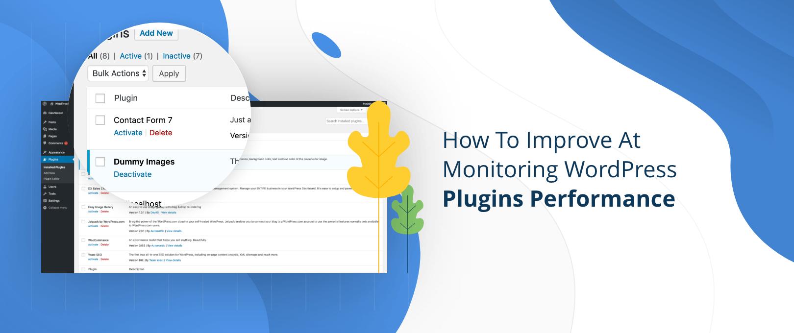Monitoring WordPress Plugins Performance