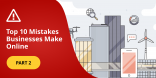 top business mistakes wordpress maintenance