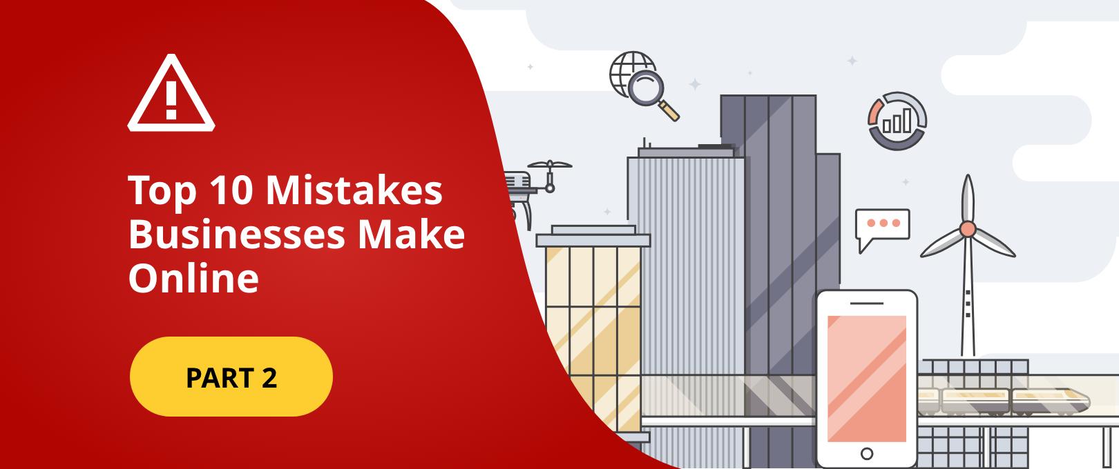top business mistakes wordpress maintenance