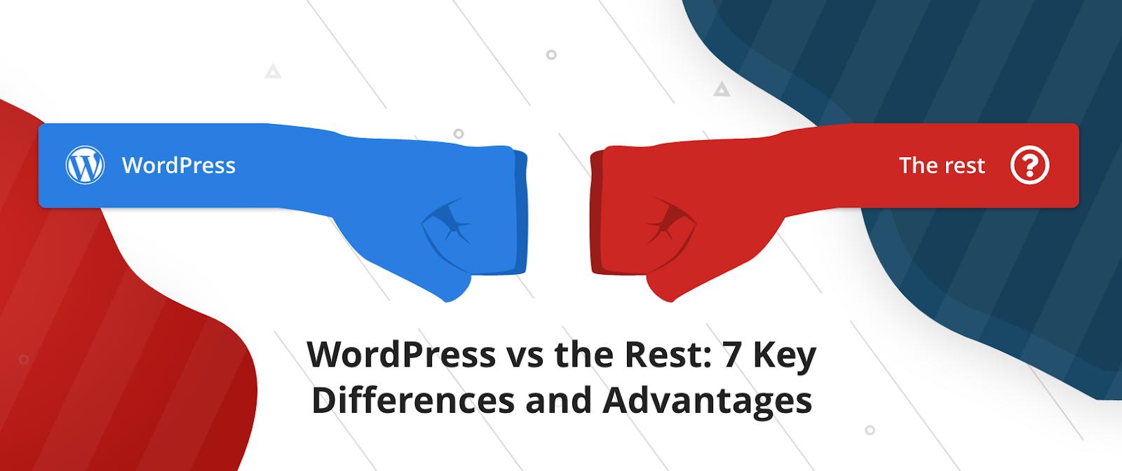 WordPress vs the rest