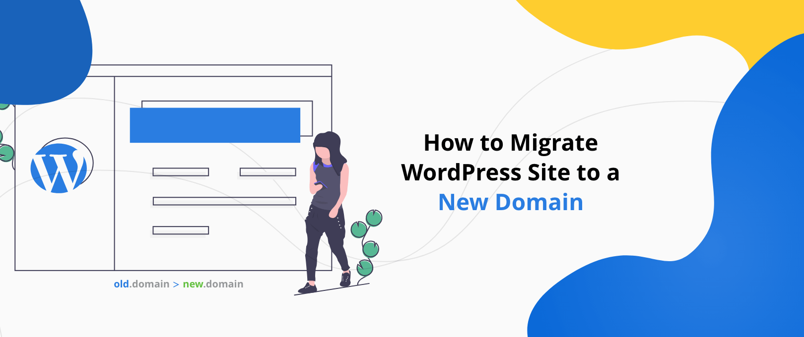 Migrate WordPress Site to new domain