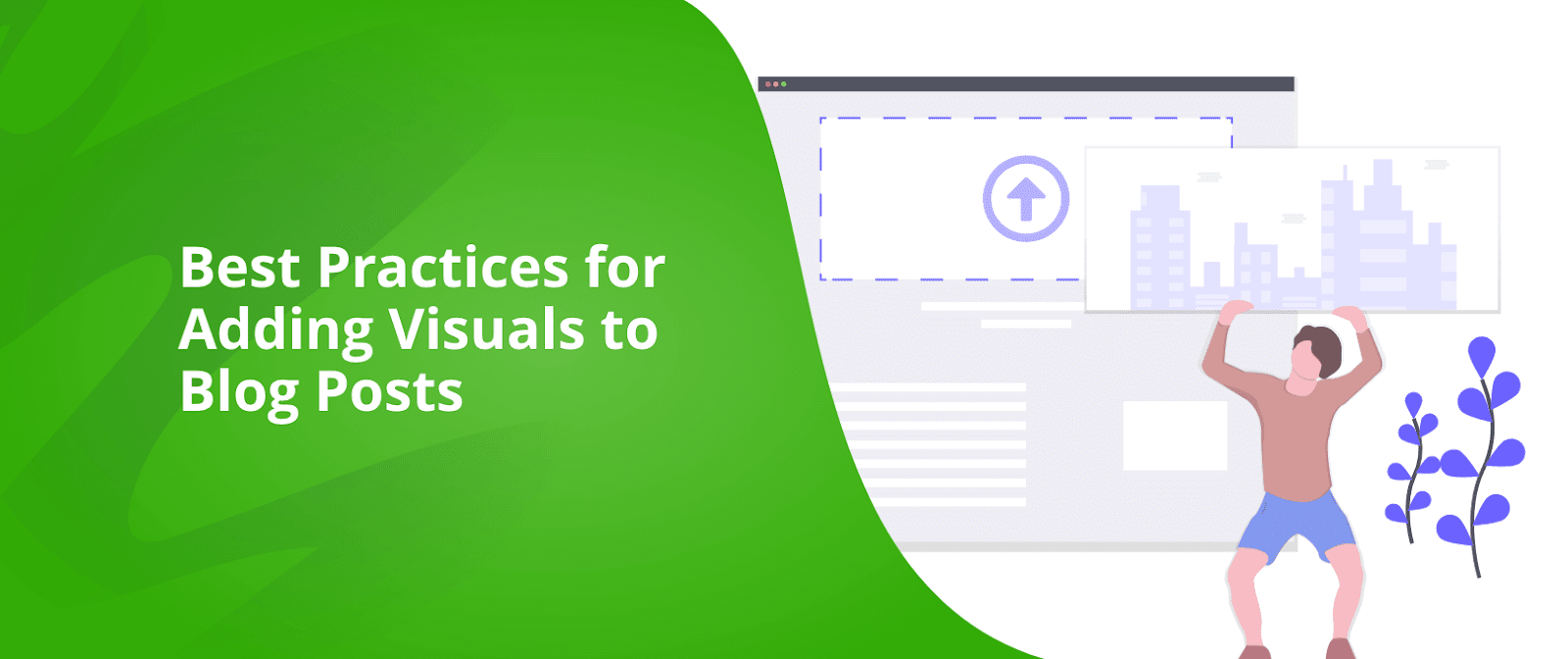 adding visuals blog posts