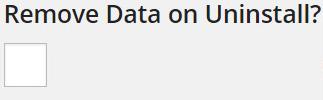 Remove data option - EDD