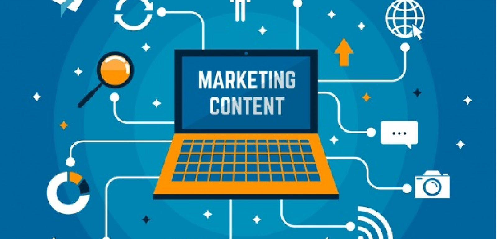 marketing content graphic