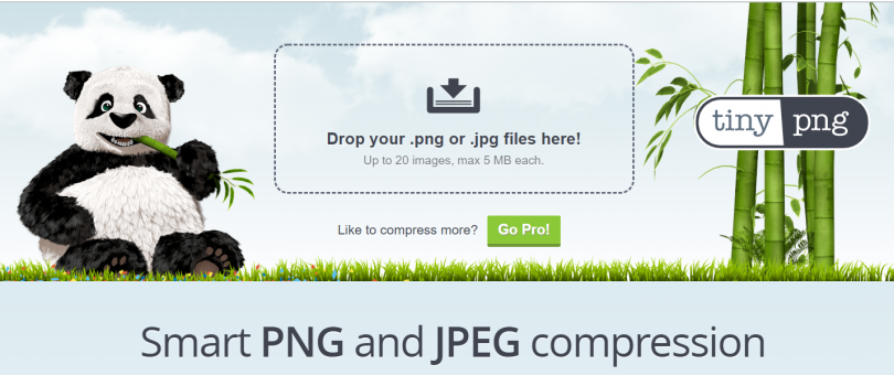 tiny png is excellent for image formatting and compression