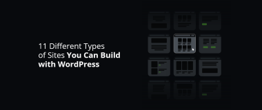 11 Different Types of Sites Build with WordPress@