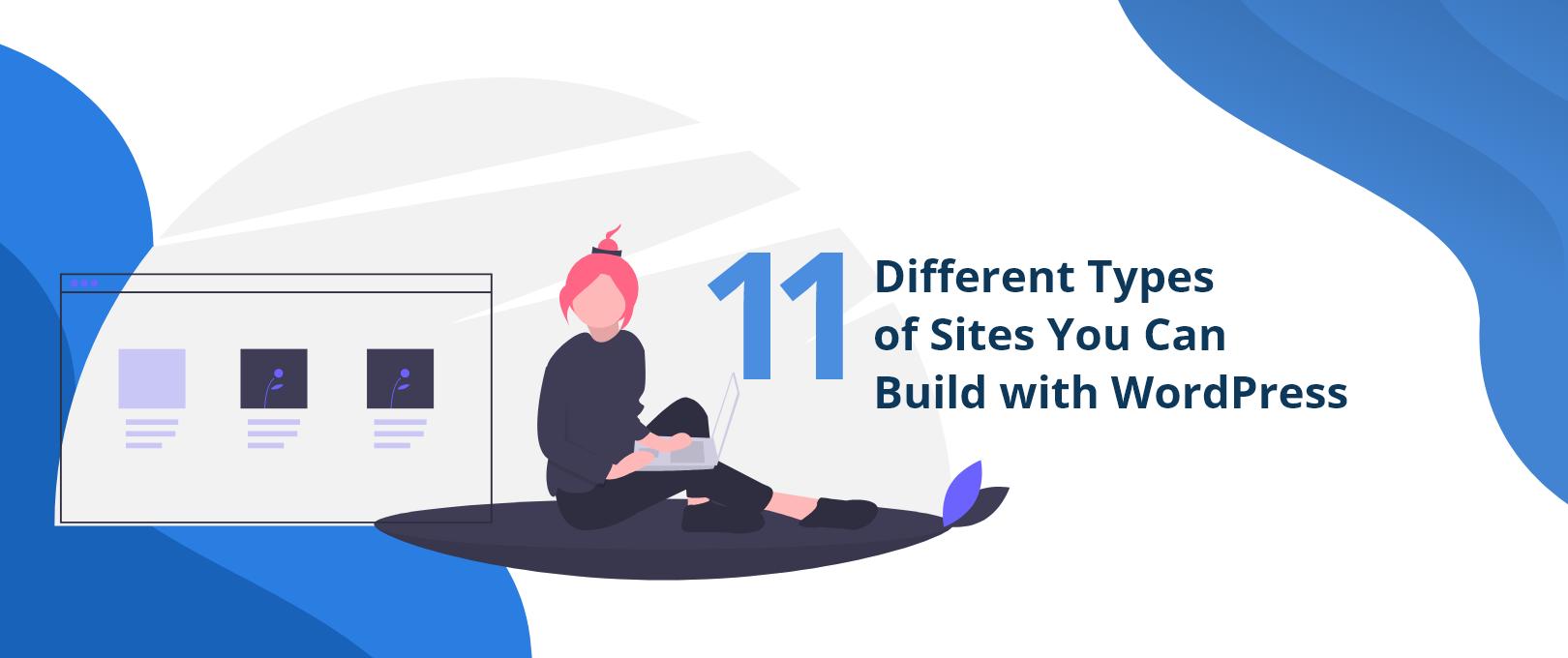 Types of sites WordPress