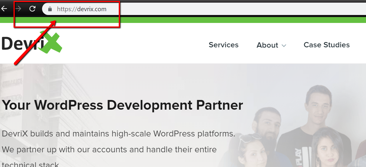 DevriX website https