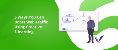 Boost Web Traffic Using E-learning