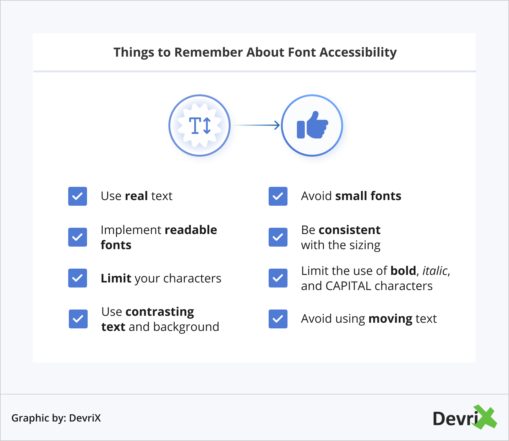 Things to Remember About Font Accessibility